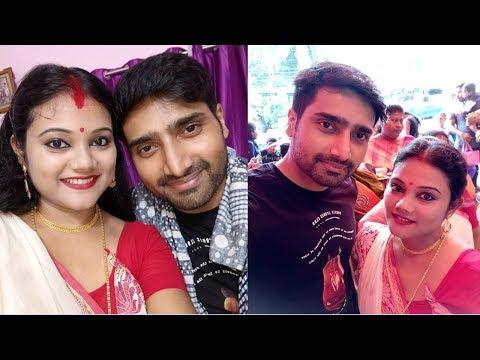 Ke Apon Ke Por Actor Biswajit Ghosh With His Wife Antara Real Life Story