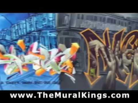 TATS CRU: THE MURAL KINGS  GRAFFITI