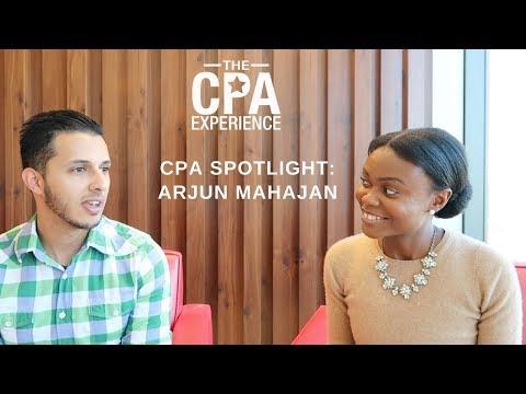 CPA Spotlight - Arjun Mahajan | CPA Career in Tax