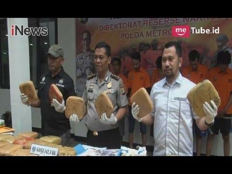 Polda Metro Jaya Gagalkan Penyelundupan 142,8 Kg Ganja Jaringan Aceh-Jakarta - iNews Pagi 25/04