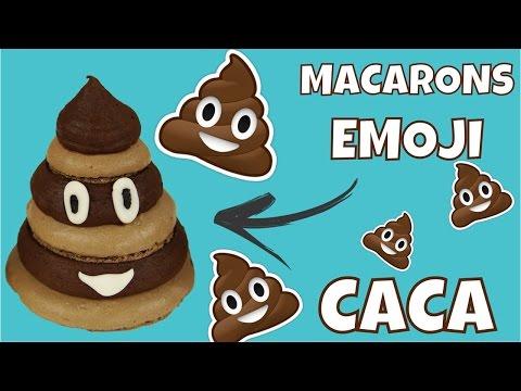 ♡•-recette-macaron-emoji-caca-•♡
