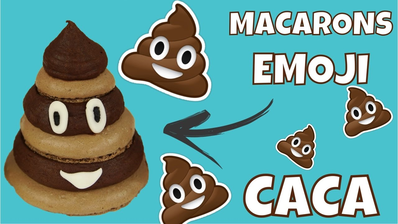Recette Macaron Emoji Caca Youtube