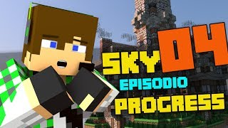 RADDOPPIAMO LE ENTRATE! FARM DI OSSA! - Minecraft Sky Progress E4