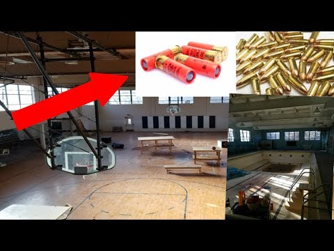 Thumbnail: I couldn't believe what was in this abandoned school... LIVE BULLETS FOUND IN ABANDONED SCHOOL!