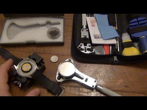Fix Your Own Watch With A Repair Kit (Surprisingly Affordable Tools)