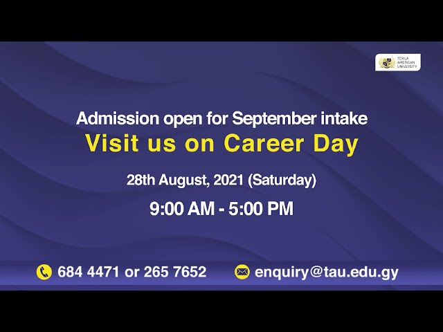 Career Day 2021 | Explore Your Future