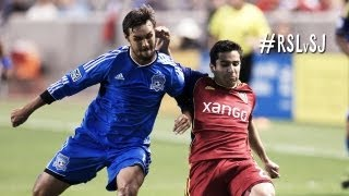 HIGHLIGHTS: Real Salt Lake vs San Jose Earthquakes | September  21st, 2013