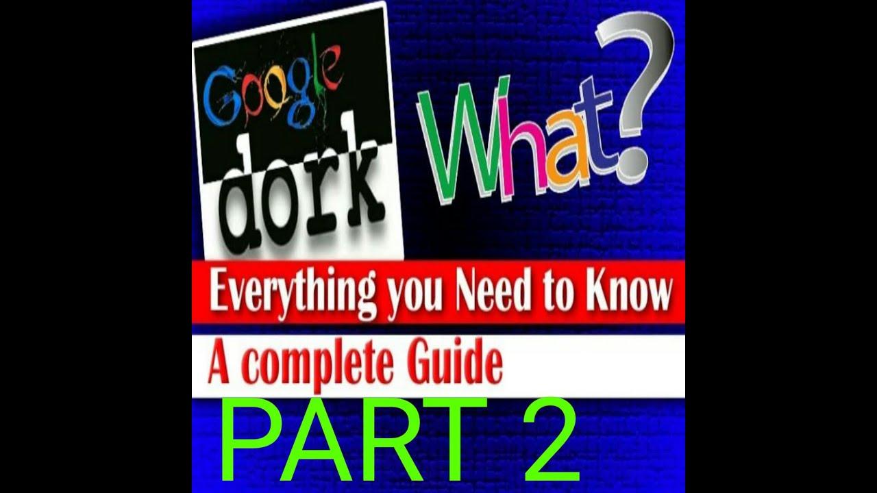 [Hindi] google dork command |hacking with Google full tutorial