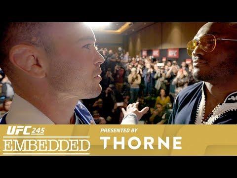 UFC 245 Embedded: Vlog Series - Episode 5