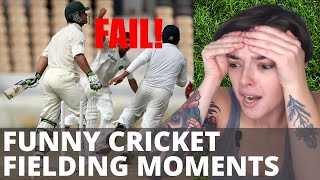 TRY NOT TO LAUGH CHALLENGE!!! ~ Hilarious Cricket Fails!! | REACTION!