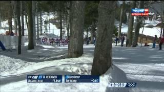 Лыжные гонки Мужчины Масс старт 50 км Марафон  XXII Зимние Олимпийские Игры 2014 в Сочи 23 02 2014
