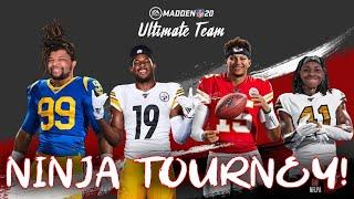 Madden 20 Ultimate Team Ninja Member Tournament!
