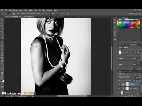 How to make a Black and White Noir photo effect in Photoshop