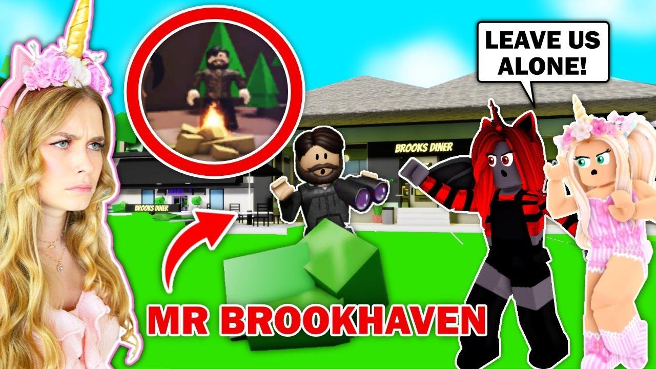 MR BROOKHAVEN *SECRETLY* STALKS Me In Brookhaven! (Roblox)