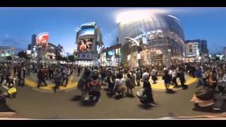 Tokyo Shibuya en 360/VR