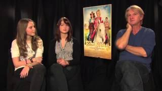 BIBI UND TINA - DER FILM - Interview Lina-Larissa Strahl & Lisa-Marie Koroll & Detlev Buck