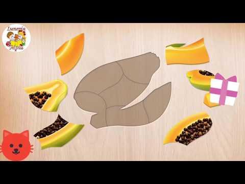 #пазли#пазлы.Збираємо пазли, вивчаємо овочі і фрукти.Розвиваючі мультики для дітей українською мовою