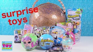 LOL Big Surprise Ball Of Toys #5 Disney Coco Surprizamals Toy Opening | PSToyReviews