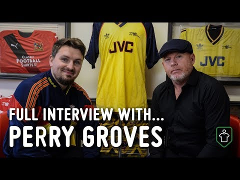 Arsenal's Perry Groves Full Interview with Classic Football Shirts
