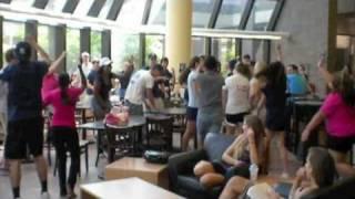 UNF Starbucks Flash Mob Interlude Dance Attack Attack
