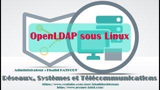 OpenLDAP sous Linux (KHALID KATKOUT)
