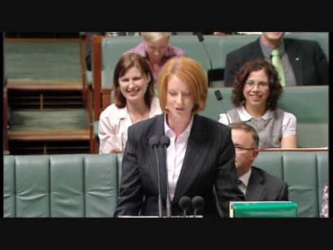 Bronwyn Bishop MP vs Julia Gillard MP