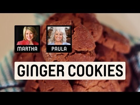 Chewy Ginger Cookie Recipes