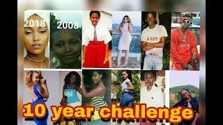 DIAMOND PLATNUMZ NA MASTAA WENGINE NDANI YA 10 YEAR CHALLENGE   Cheki video