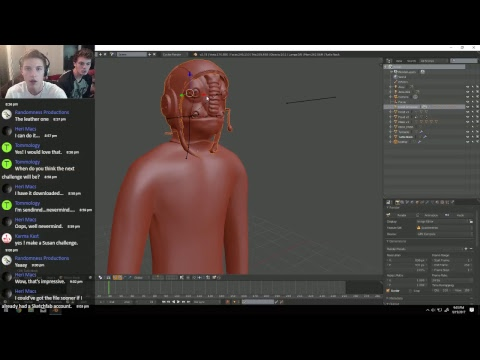 Working on Bert the Human [LIVESTREAM!]