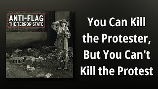 Anti-Flag // You Can Kill the Protester, But You Can't Kill the Protest