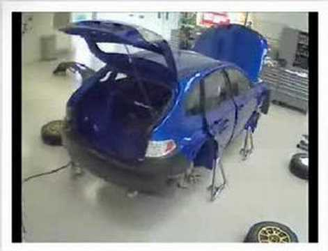 New 2008 Subaru Impreza WRC Rally Car Build Up