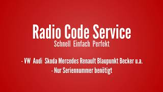 How to find your vw radio pin code and get out of safe mode