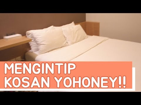 Cover Lagu MENGINTIP KOSAN YOHONEY !! feat. Pembukaan kantor Eblo Production!? HITSLAGU
