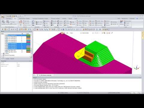 GTS NX: Piles Foundation Complete Tutorial