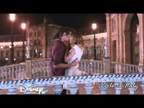 Tutti i baci di Violetta e Leon | Violetta 1,2,3 HD