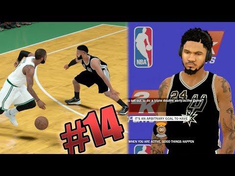 NBA 2k18 MyCAREER - 1st Triple Double vs My Old Team! Kyrie Breaking Ankles! Ep. 14