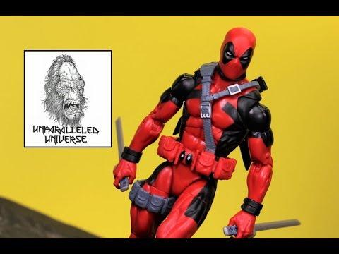 Marvel Legends Classic Deadpool ( Sasquatch Build A Figure Wave) Action Figure Review