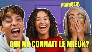 QUI ME CONNAIT LE MIEUX? PRANK VERSION! feat. Bilal Hassani & Sparkdise ||Léna Situations