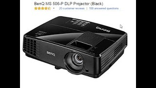 Unboxing BenQ MS 506-P DLP Projector | Live Product Installation and Demonstration
