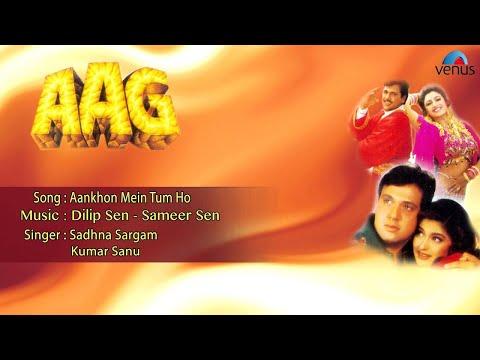 Aag : Aankhon Mein Tum Ho Full Audio Song | Govinda, Shilpa Shetty, Sonali Bendre |