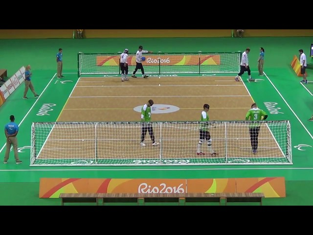 Paralympic Games 2016 Goalball Male LTU 8 x7 USA
