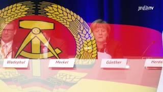 Was steckt hinter Merkels Maske? (JF-TV Im Fokus)