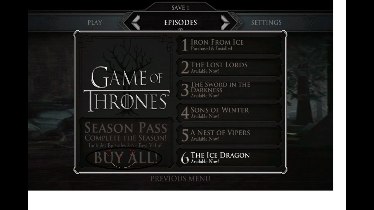 game of thrones telltale episode 2 free download