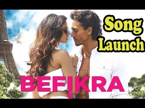 BEFIKRA Song Launch 2016 | Tiger Shroff, Disha Patani, Bhushan Kumar | Full Video Song 2016