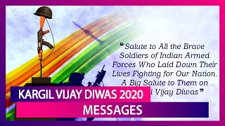 Kargil Vijay Diwas 2020 Messages in Hindi: Images & Quotes to Remember the Brave Martyrs on July 26