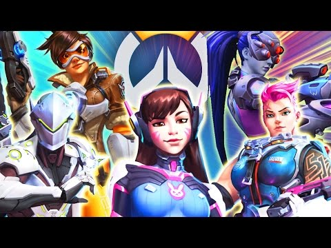 Theme Teams: Overwatch | Heroes of the Storm Gameplay