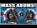 Grubby | WC3 | Facing MASS ABOMS!