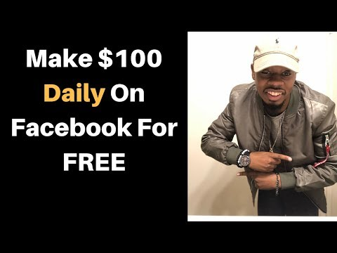 Made $100/day on Facebook For FREE & Paid With CPA affiliate offers