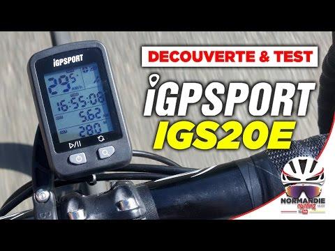 iGPSPORT IGS20E - Compteur GPS - Test