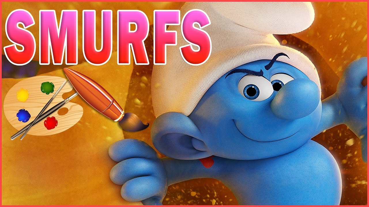Smurfs the lost village movie 2017 kids coloring book - Hefty smurf the lost village ...